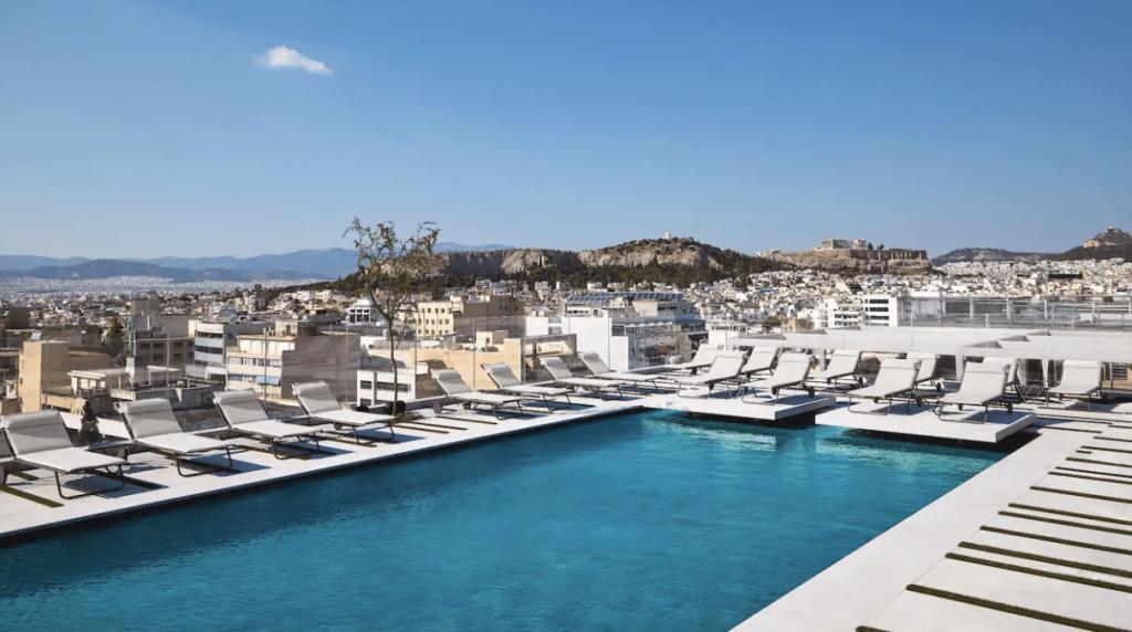 Grand Hyatt Athen Griechenland Pool 03