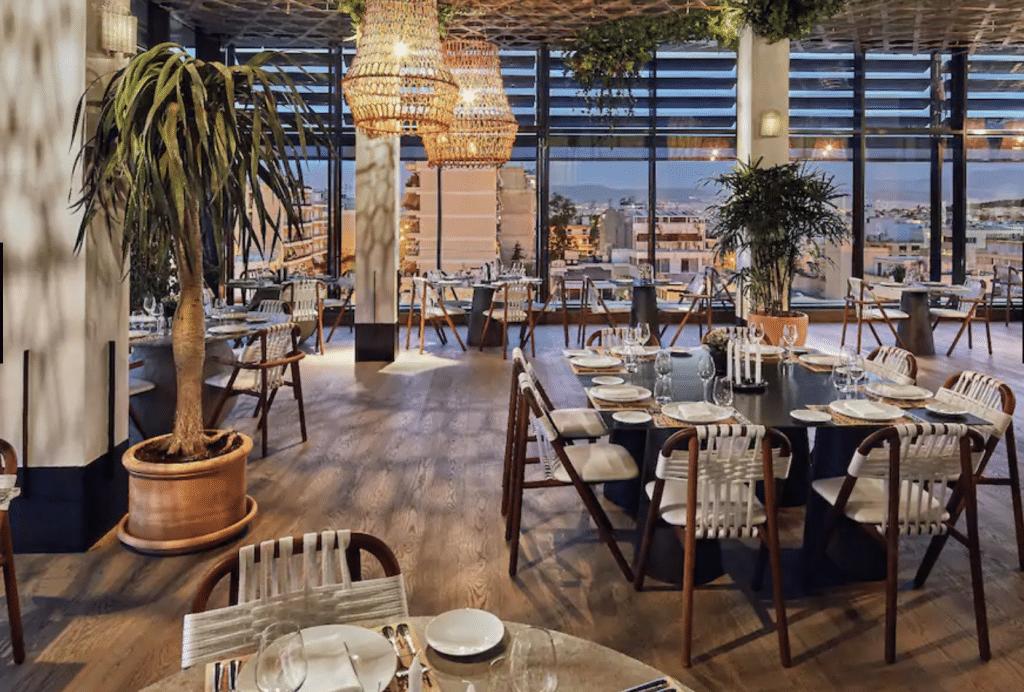Grand Hyatt Athen Griechenland Restaurant 02