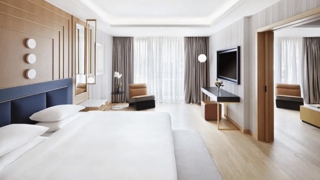 Grand Hyatt Athen Griechenland Zimmer Suite 01