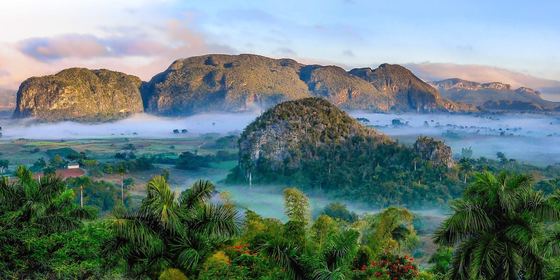 Kuba Ausblick Landschaft