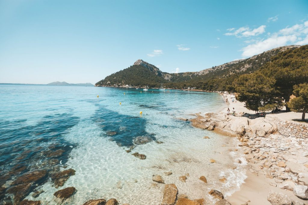 Mallorca Meer Kueste Strand