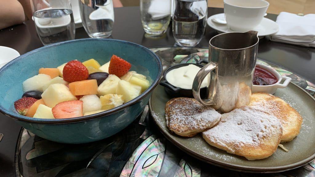 Park Hyatt Wien Frühstück Pancakes