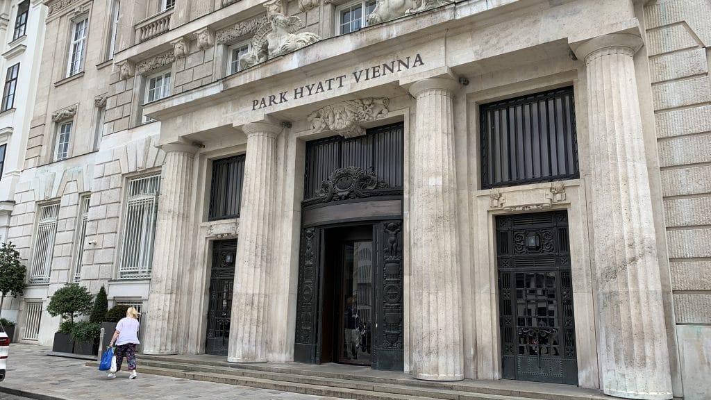 Park Hyatt Wien Gebäude