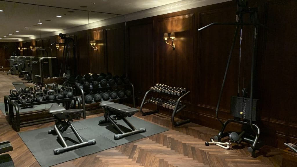 Park Hyatt Wien Gym 1