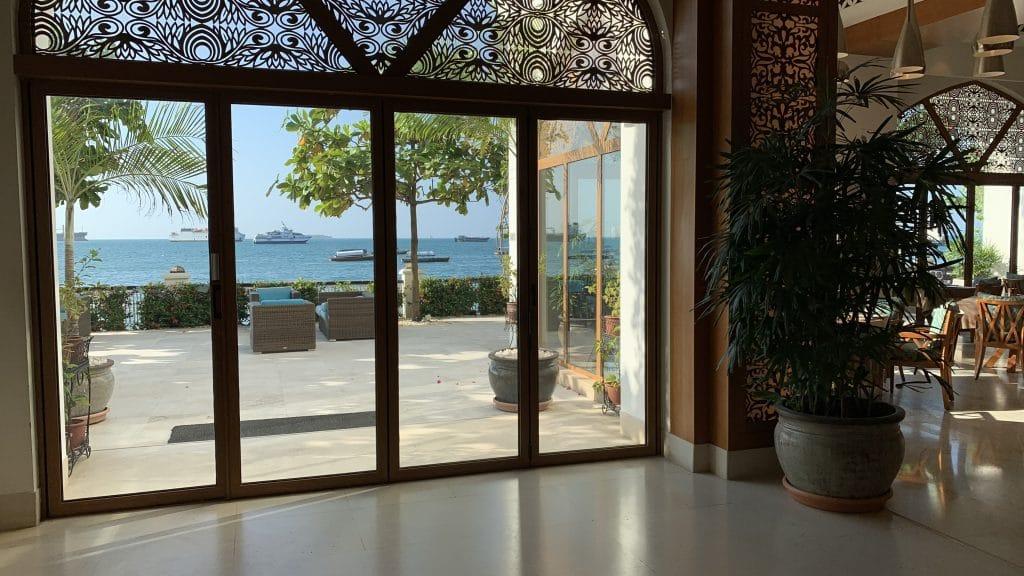 Park Hyatt Zanzibar Restaurant View