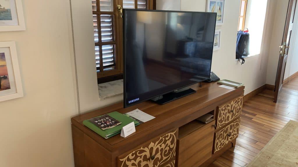 Park Hyatt Zanzibar Tv Schlafzimmer