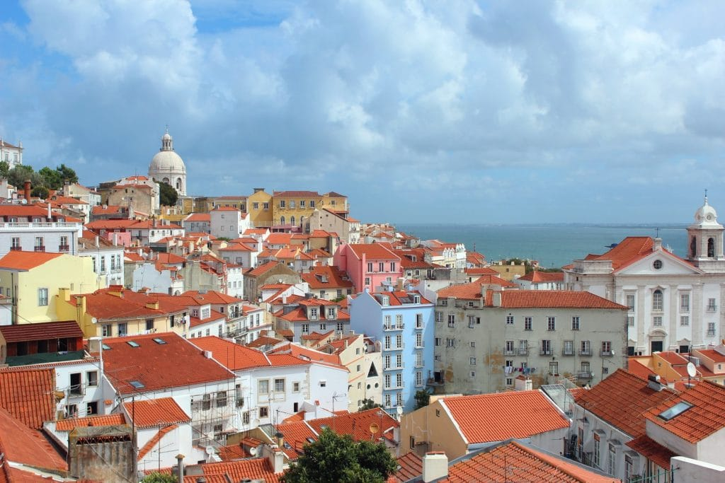 Portugal Lissabon Skyline