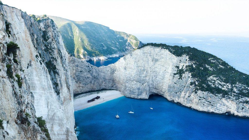 Strand Griechenland 1600x900