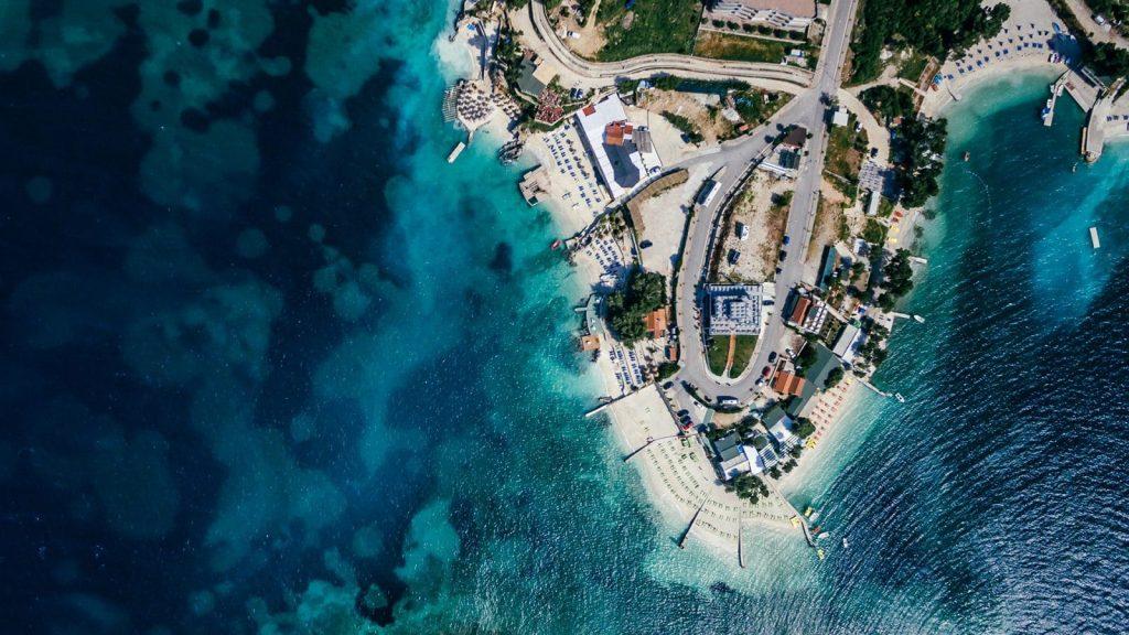 Strand Kroatien 1600x900