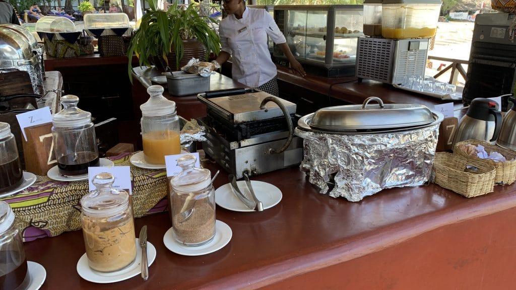 Z Hotel Zanzibar Frühstück 4