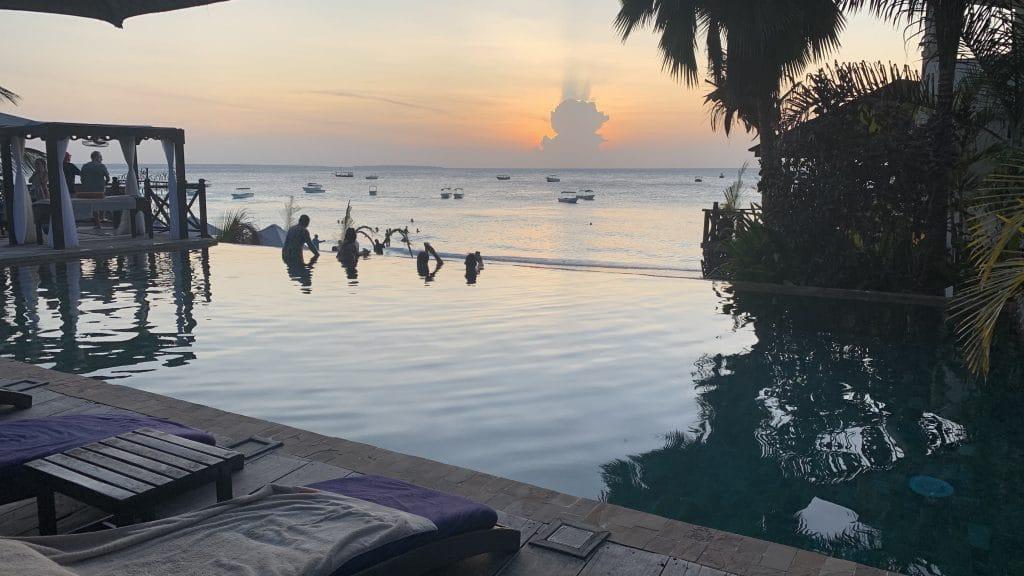 Z Hotel Zanzibar Pool