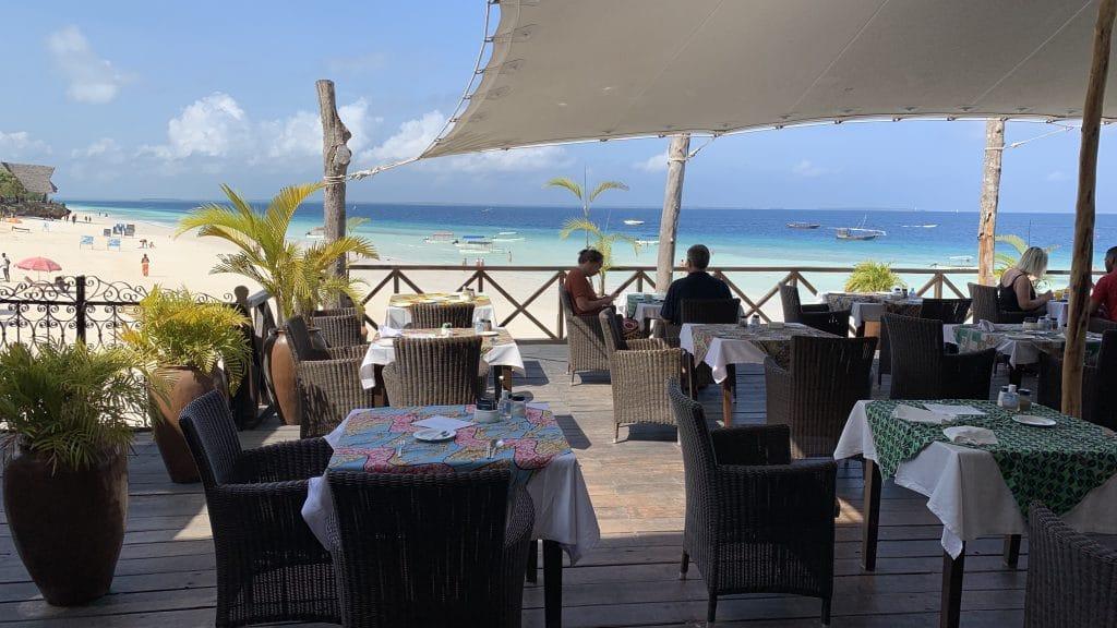 Z Hotel Zanzibar Restaurant Frühstück