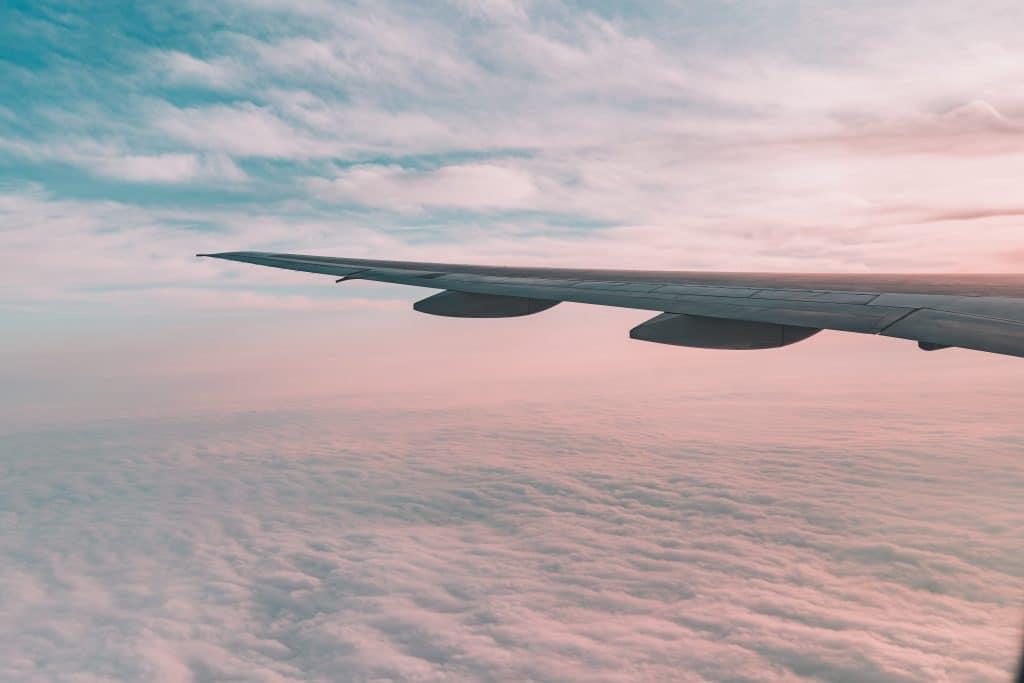 Flugzeug Flügel Reisen