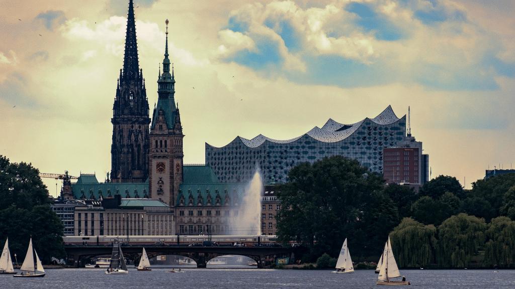 Hamburger Innenstadt Elbphilharmonie