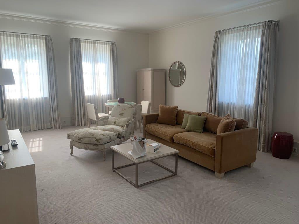 Heiligendamm Suite Wohnbereich