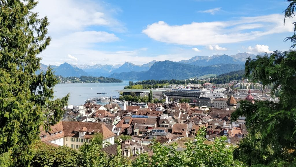 Luzern Ausblick Bürgenstock Resort