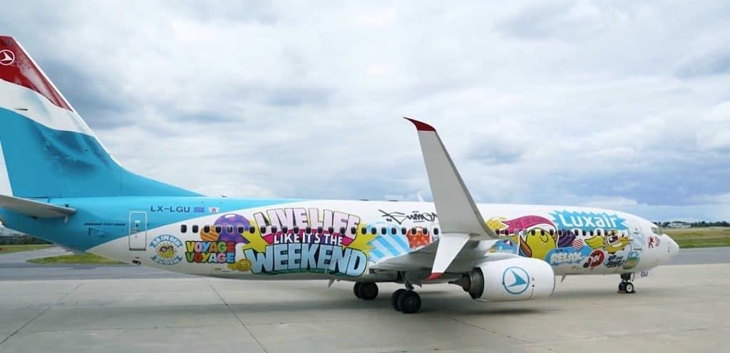 Sumo Luxai Spezialbeklebung Boeing 737 E