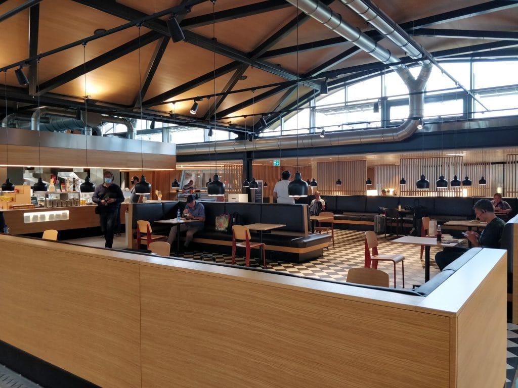 Swiss Senator Lounge Zürich A Corona Sitzplätze 2