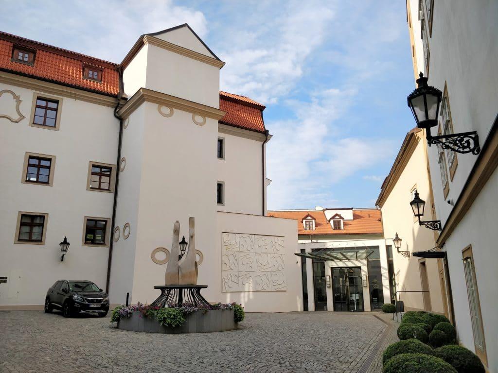 The Augustine Prag Eingang