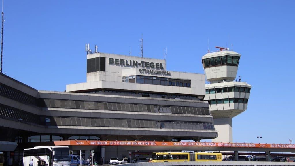 Flughafen Tegel Ansicht Hauptterminal