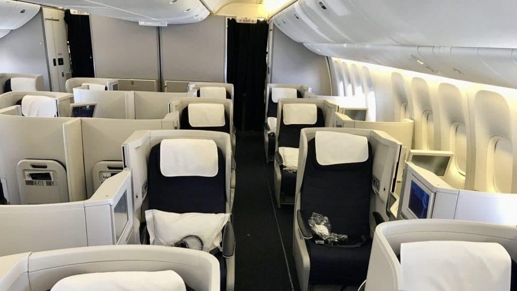 Birtish Airways Business Class