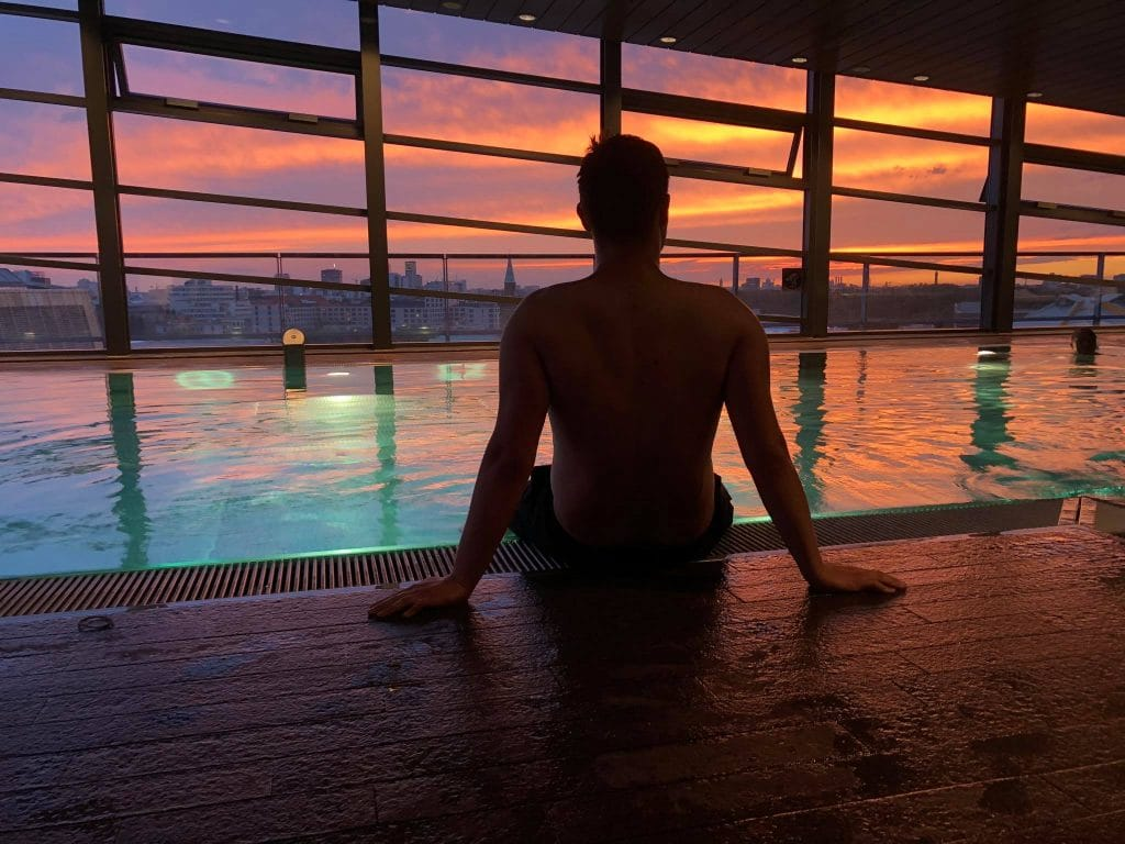 Grand Hyatt Berlin Sunset