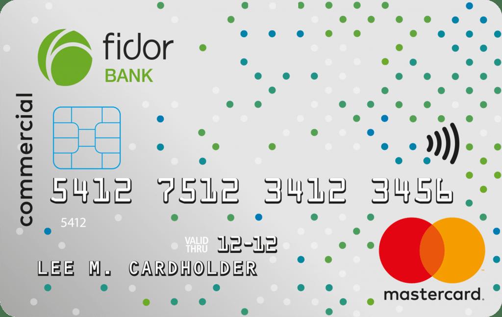 Fidor Business Debit Mastercard