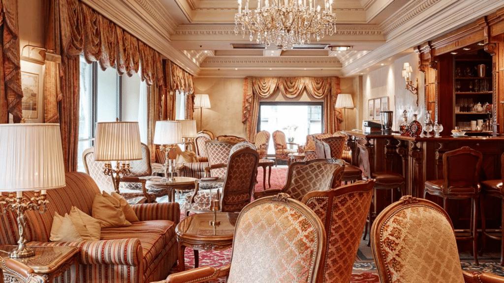 Lobby Grand Hotel Wien