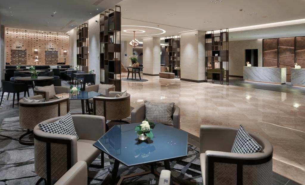 Hilton Mailand Lobby