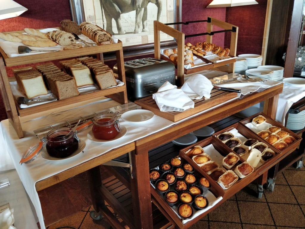 La Réserve Genève Frühstück Buffet