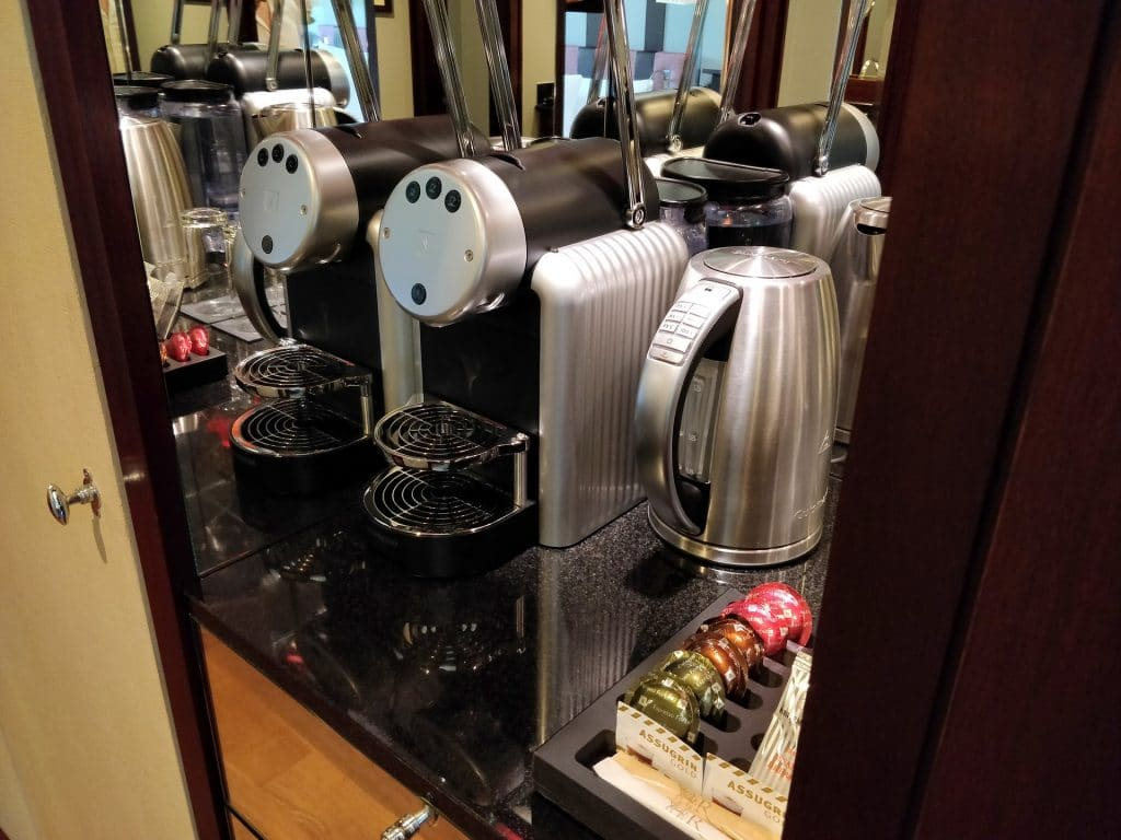 La Réserve Genève Kaffeemaschine