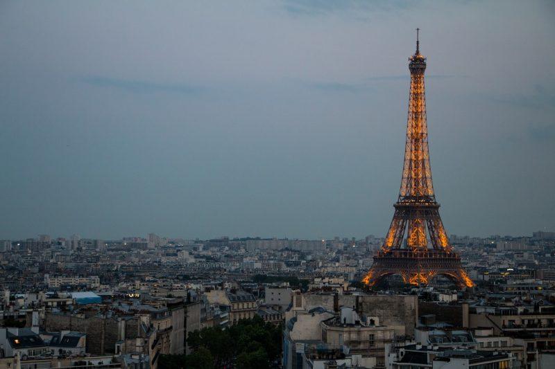 Paris Eiffelturm Skyline