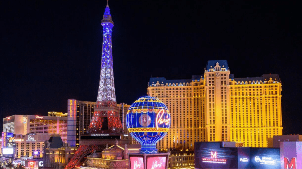 Paris Las Vegas Strip