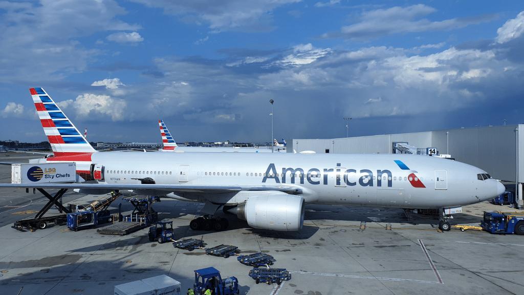 American Airlines Flughafen Flugzeug Oneworld