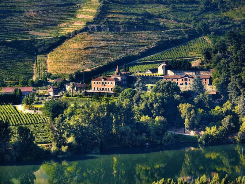 Douro Valley Portugal Six Senses Douro Valley From The West