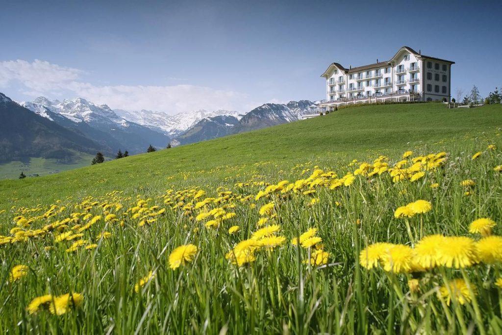 Hotel Villa Honegg Außen