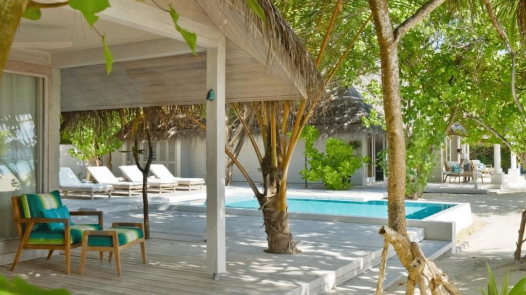 Kanuhura Villa Außenansicht