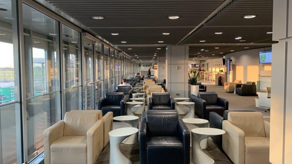 Lufthansa Lounge Düsseldorf Lounge Bereich 2