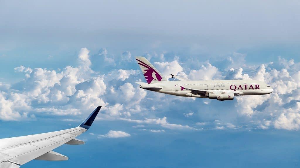 Qatar Airways Clouds