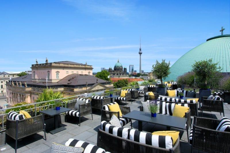 Rocco Forte Hotel De Rome Terrasse
