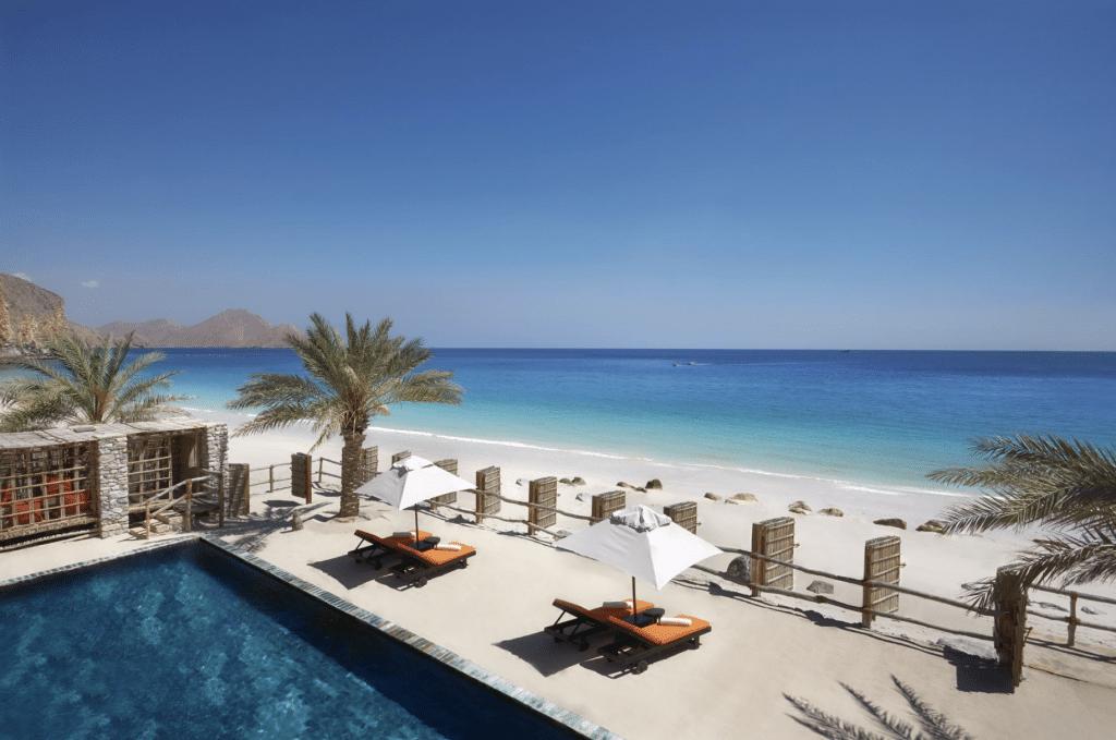 Six Sense Zighy Bay Pool Beach Villa