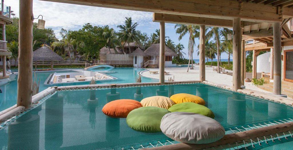Soneva Fushi Resort Ansicht