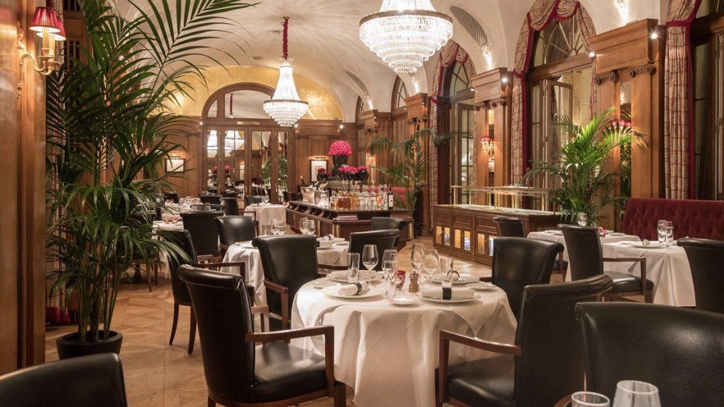 Bellevue Palace Bern Restaurant