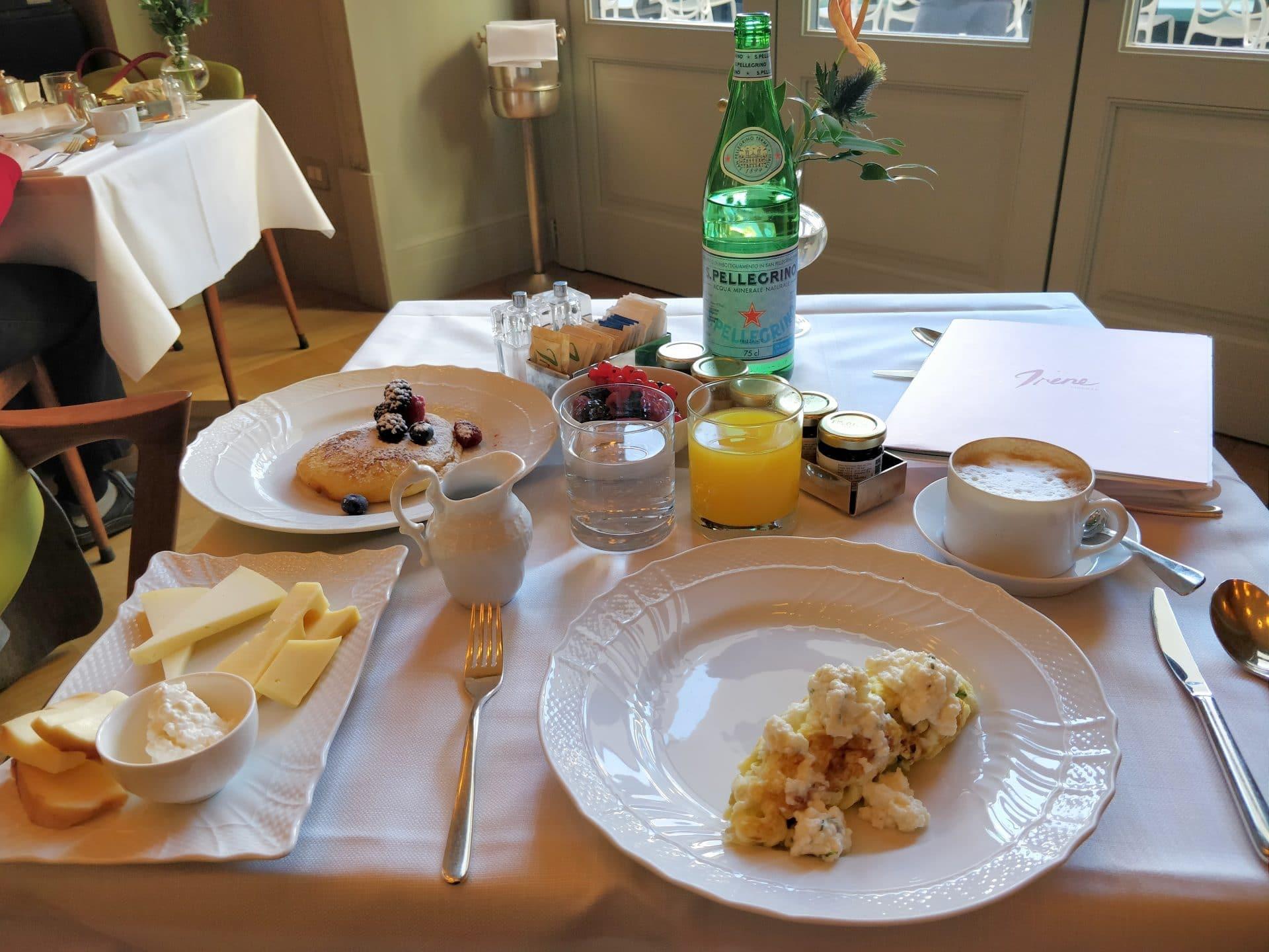Hotel Savoy Florenz Frühstück