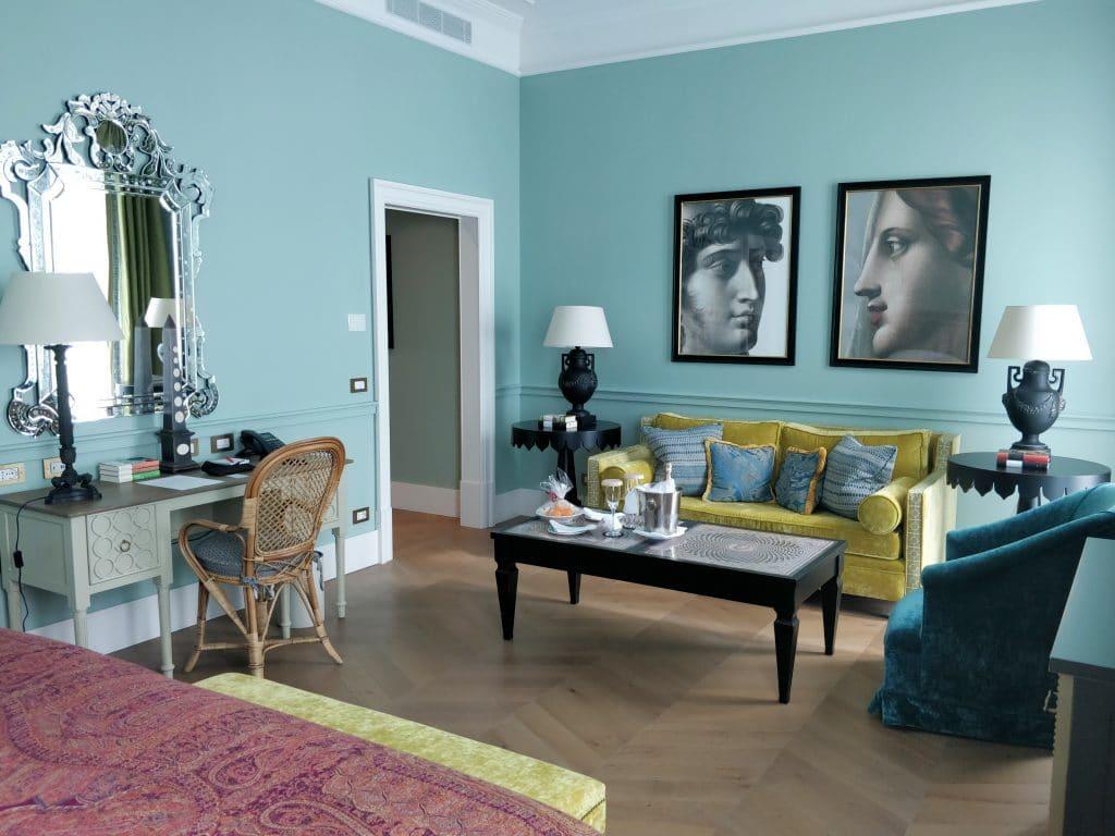 Hotel De La Ville Rom Zimmer