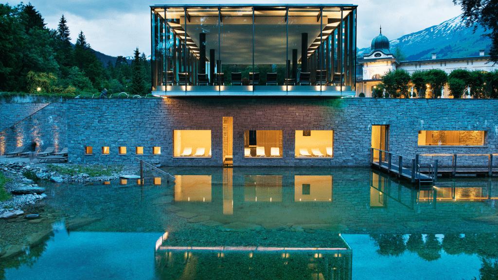 Waldhaus Flims piscine