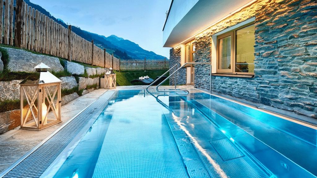 Hôtel spa  Großarler Hof piscine