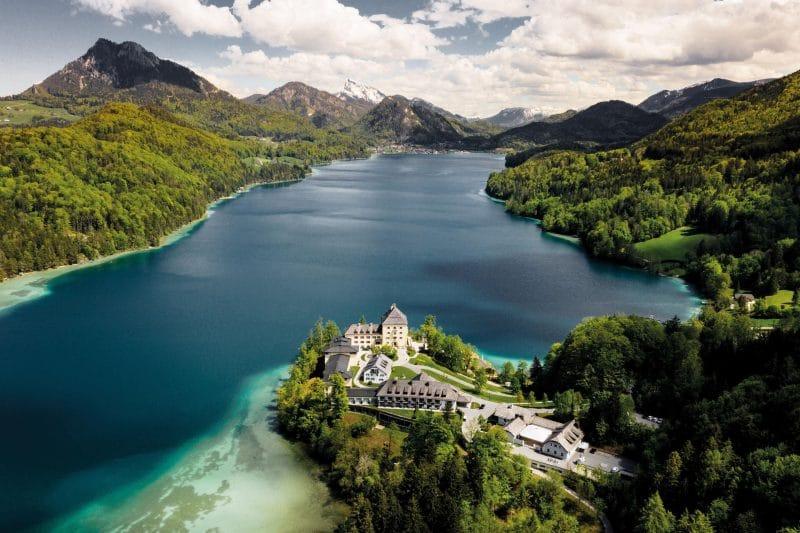 Ansicht Schloss Fuschl Hotel