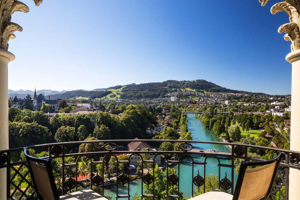 Bellevue Palace Bern Aussicht
