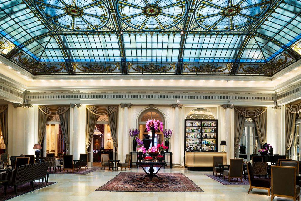 Bellevue Palace Bern Lobby 1